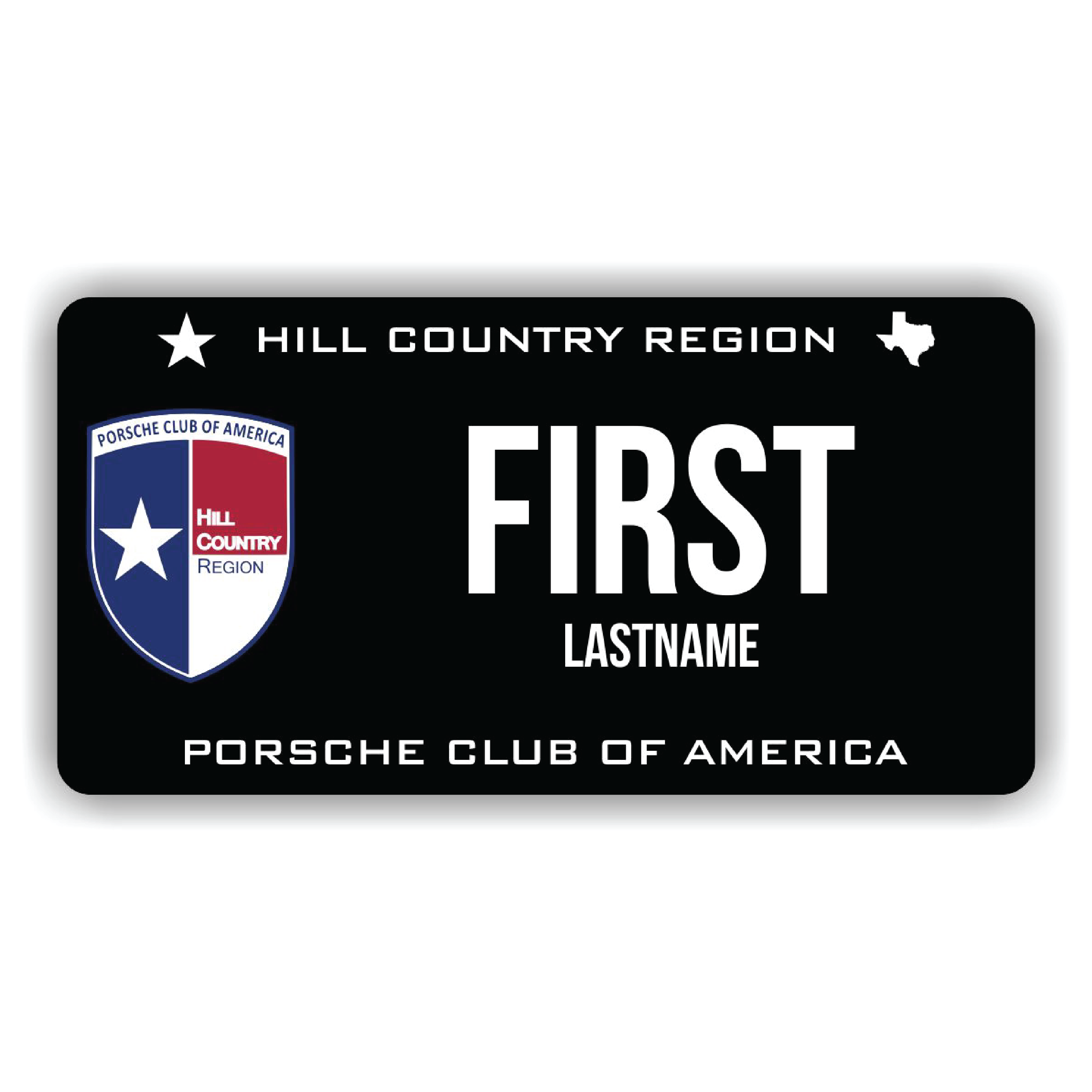 Hill Country Region PCA Name Tag