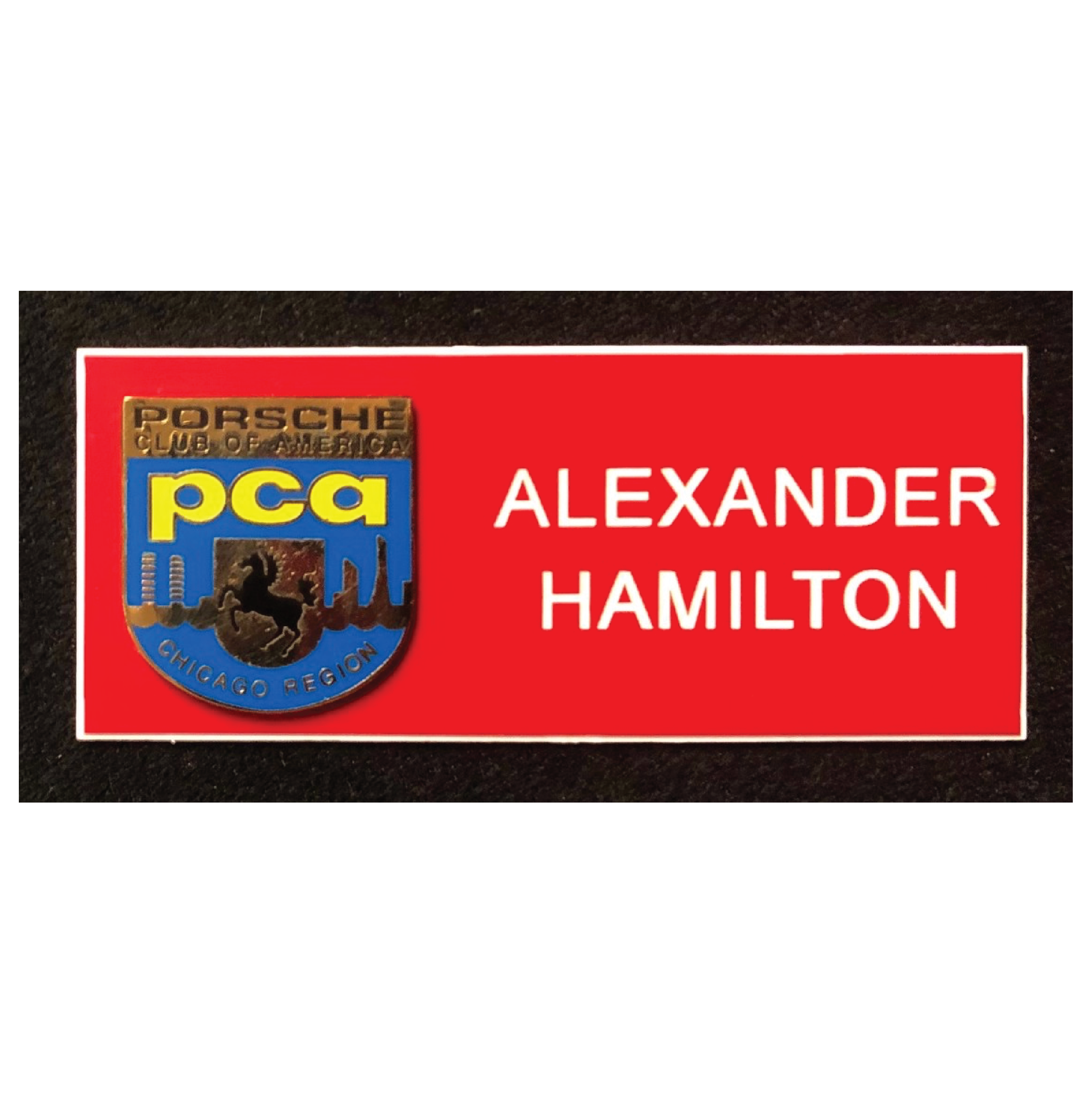 Chicago Region PCA Name Tag
